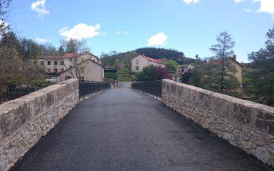 Le pont de la Fare fait peau neuve