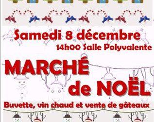 Marché de Noël à Prévenchères
